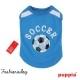T-shirt Puppia Worldpup bleu