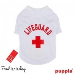 T-shirt Puppia Dogwatch blanc