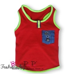 T-shirt Pretty Pet rouge
