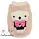 Pull Pretty Pet bow tie bear sweater rose