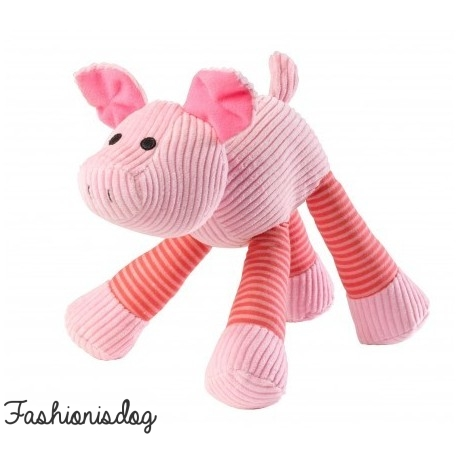 Jouet Noisy pig cord House of Paws