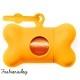 Ramasse-crottes Bon Ton fluo orange United Pets