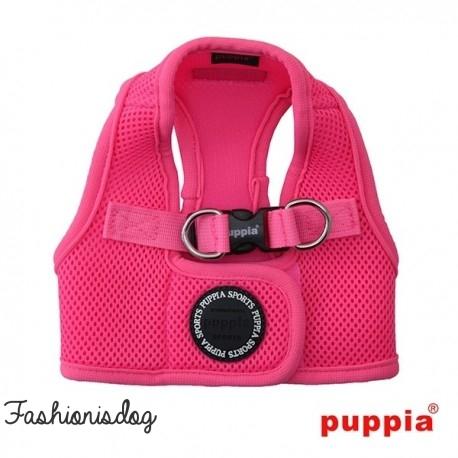 Harnais Puppia veste Neon rose