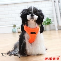 Harnais Puppia veste Neon orange