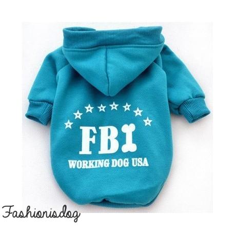 Sweat FBI bleu