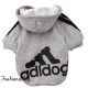 Sweat Adidog gris