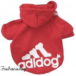 Sweat Adidog rouge