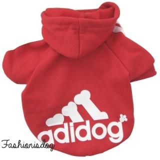 Sweat Adidog rouge