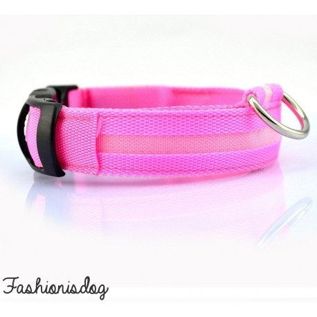 Collier lumineux rose