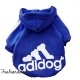 Sweat Adidog bleu royal