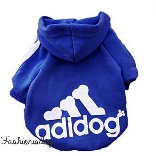Sweat Adidog bleu royal