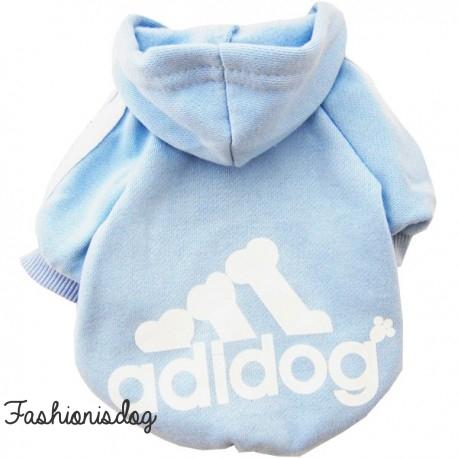Sweat Adidog bleu clair