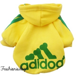 Sweat Adidog jaune