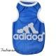 T-shrit Adidog bleu