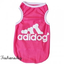 T-shirt Adidog rose
