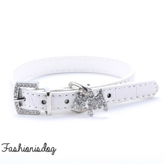 Collier Candy blanc