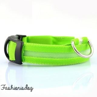 Collier lumineux vert