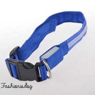 Collier lumineux bleu royal