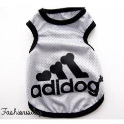 T-shirt Adidog gris