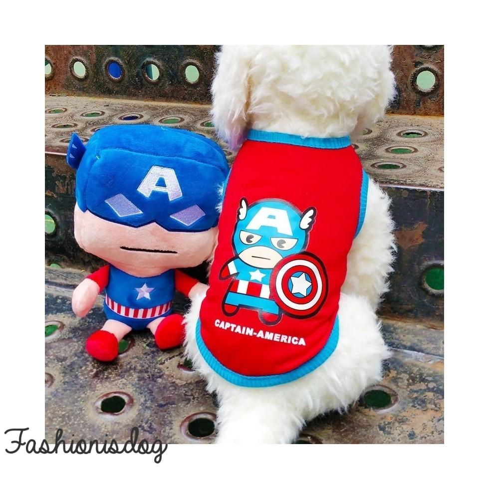 T-shirt super héros Captain America