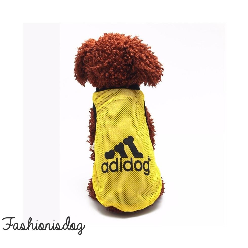 T-shirt Adidog jaune