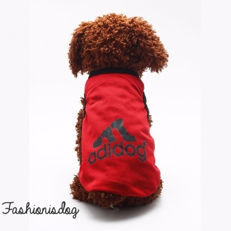 T-shirt Adidog rouge