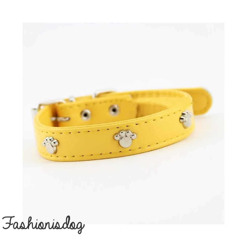 Collier Sunpaws jaune