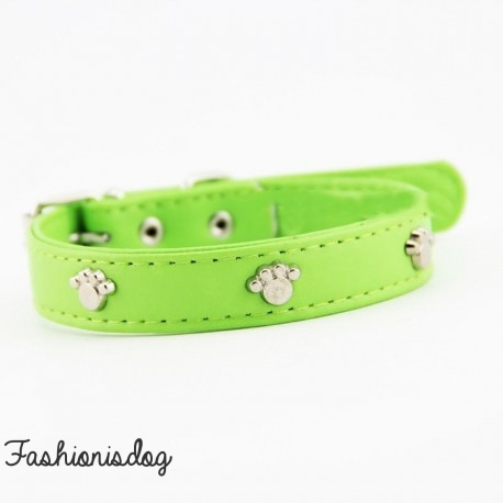 Collier Sunpaws vert
