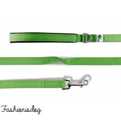Laisse Curli Basic Green Flash