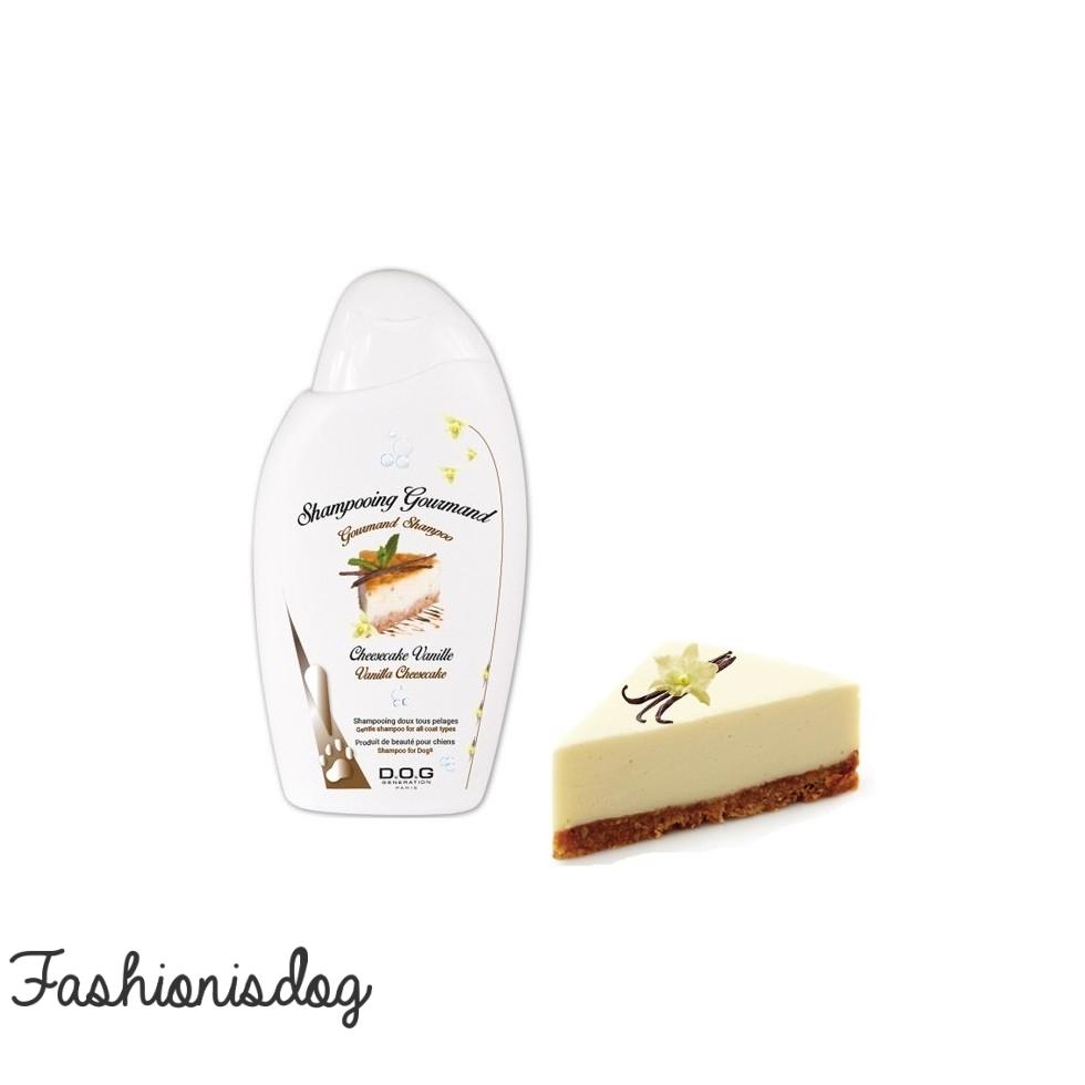 Shampooing Gourmand Cheesecake Vanille