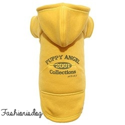 Sweat Original Vintage Puppy Angel jaune