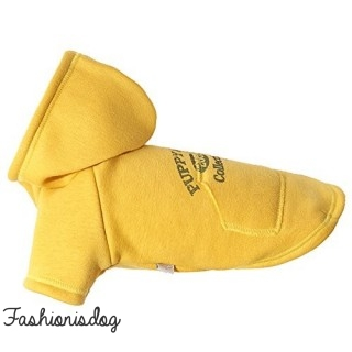 Hoodie Puppy Angel Original Vintage jaune