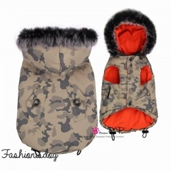 Doudoune Pretty Pet Camouflage Coat