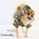 Doudoune verte Pretty Pet Reversible Hoodie Jacket