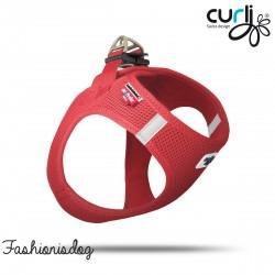Harnais Curli  Vest Air-Mesh rouge