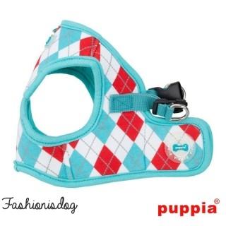 Harnais Puppia Argyle B Aqua