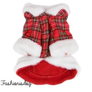 Manteau Puppia Santa écossais
