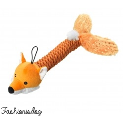 Jouet Sparkle Fox Rope Thrower House of Paws