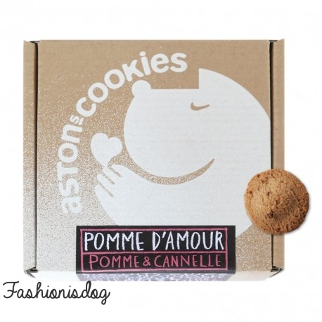 Biscuits à la pomme-cannelle Aston's Cookies : Pomme d'amour