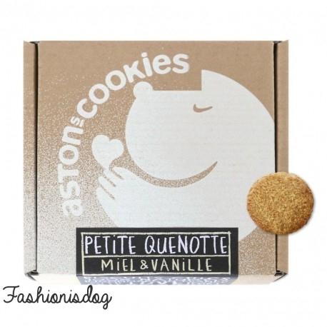 Biscuits au miel-vanille Aston's Cookies : Petite quenotte