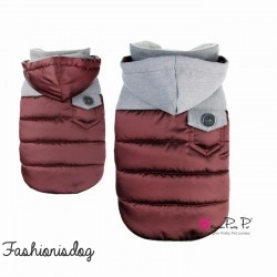 MANTEAU PRETTY PET VENTURER COAT WINE