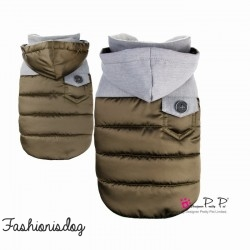 MANTEAU PRETTY PET VENTURER COAT MARRON