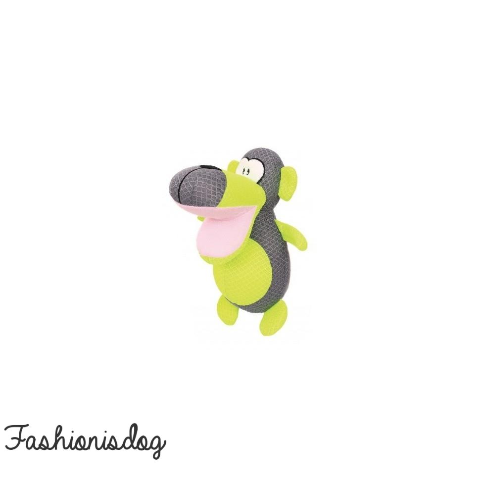 Peluche singe vert