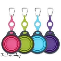 Gamelles pliables de voyage (4 couleurs)