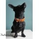 COLLIER HUGE BONE DOGS DEPARTMENT MARRON