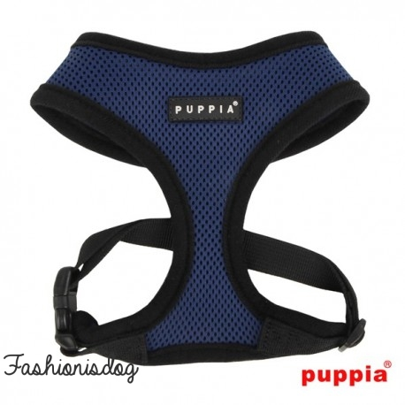 Harnais Puppia Soft Harness bleu marine