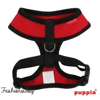 Harnais Puppia Soft Harness rouge