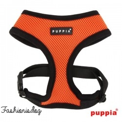 Harnais Puppia Soft Harness orange