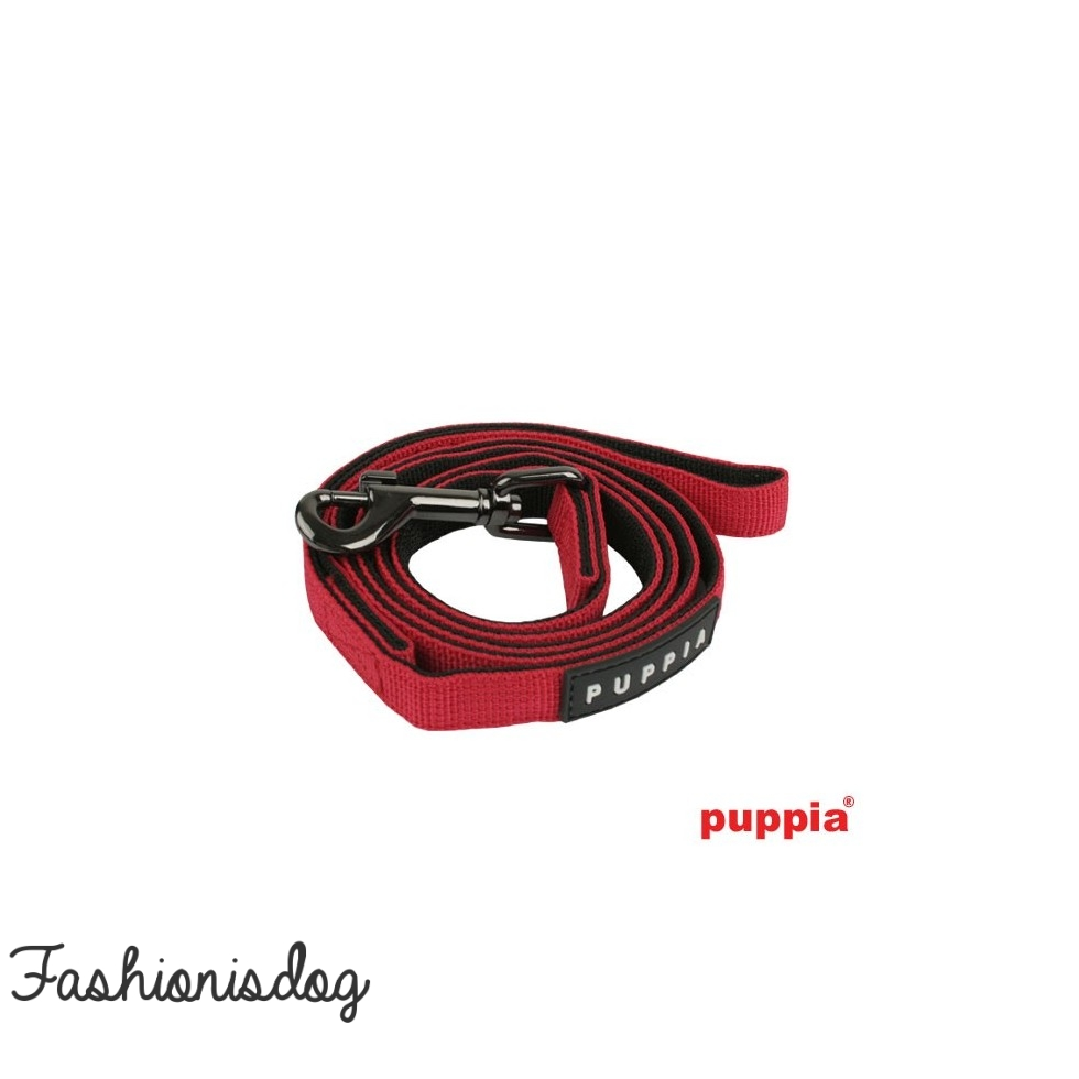 Laisse Puppia Two-Tone rouge