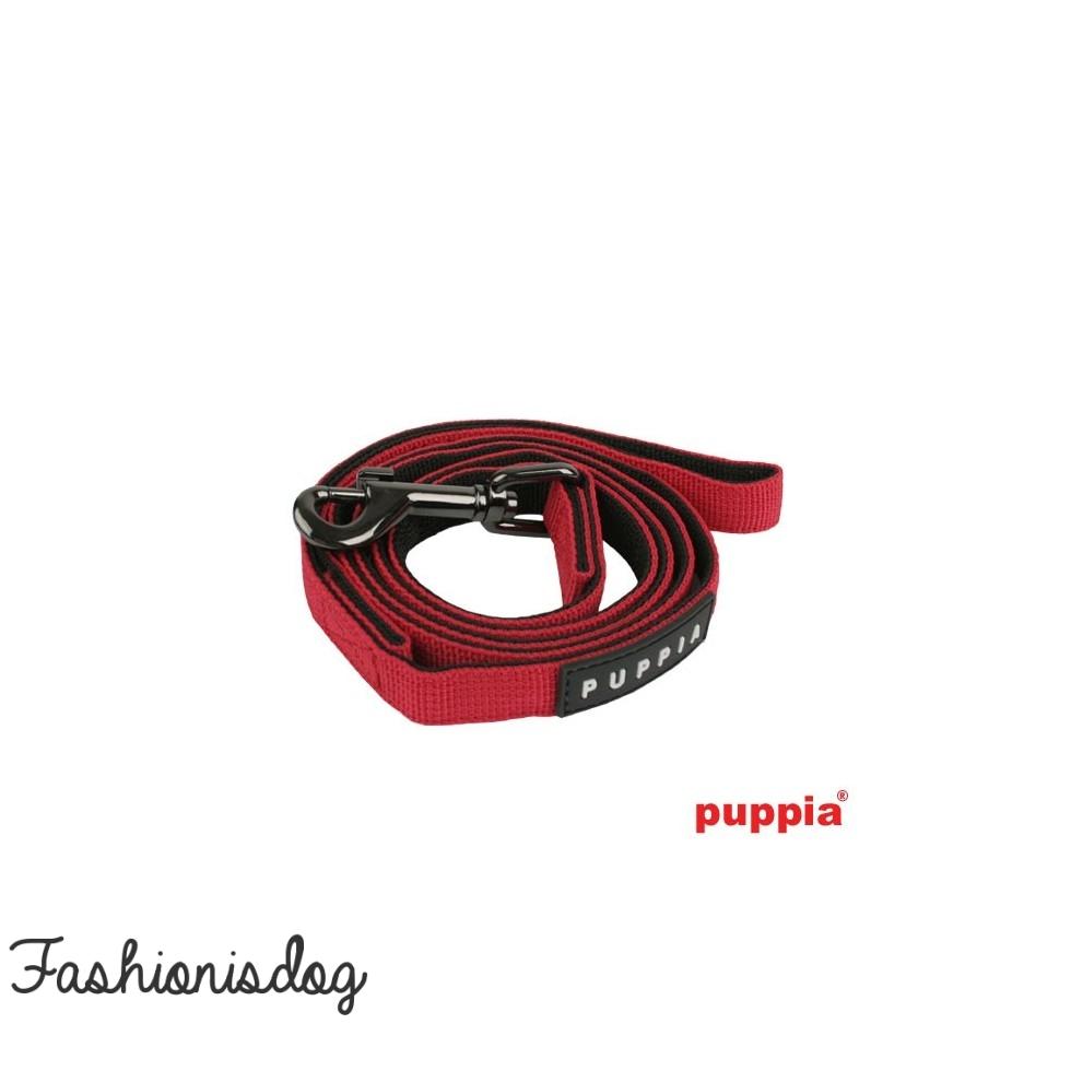 Laisse Puppia Two-Tone rouge
